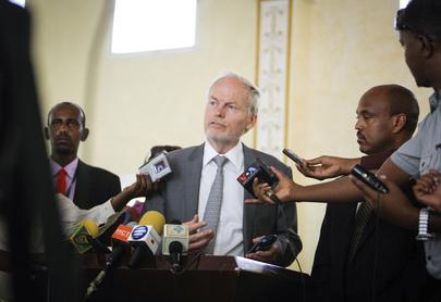 New UN Envoy for Somalia Visits Somaliland