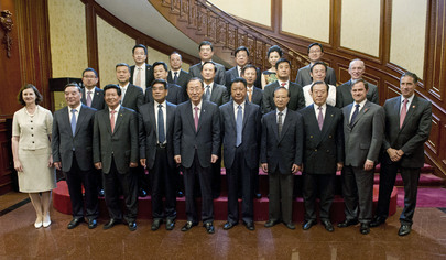 Secretary-General Meets Global Compact Business Leaders in China