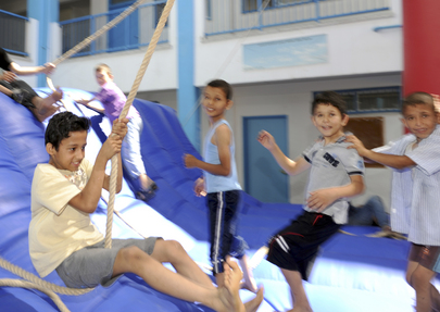 UNRWA Summer Fun Weeks 2013 for Gaza Children