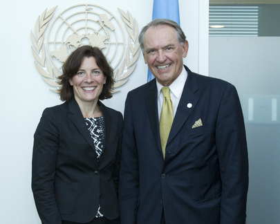 Deputy Secretary-General Meets with Defence Minister of Sweden