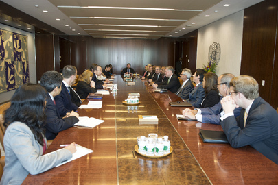 Secretary-General Meets with Congressional Delegation of United States to United Nations