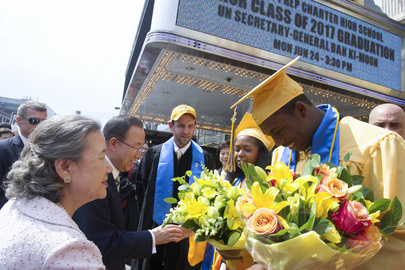 Secretary-General Addresses Graduating Class of Harlem Prep School