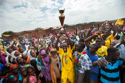 Community Football in El Fasher, North Darfur
