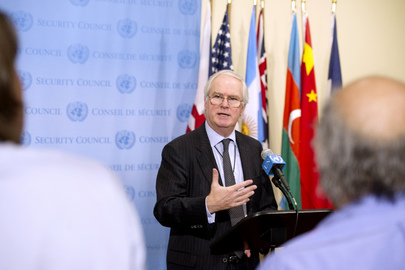 Security Council President Speaks to Press on Mali