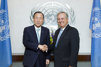 Secretary-General Meets New Permanent Representative of Brazil