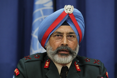Press Conference by Peacekeeping Force Commanders