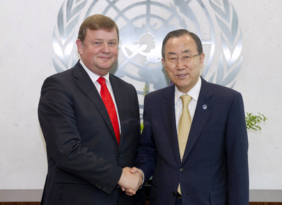 Secretary-General Meets Head of DSM