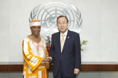 Secretary-General Meets New Head of Côte d'Ivoire Mission