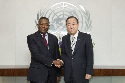 Farewell Call by Head of UN Office to African Union