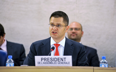 Assembly Presisdent Addresses ECOSOC High-level Segment in Geneva