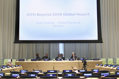 Briefing on Findings of the ICPD Beyond 2014 Global Survey
