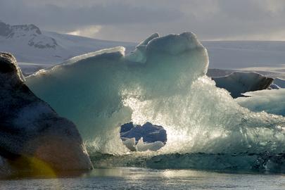Jökulsárlón Glacial Lagoon, Southeast Iceland