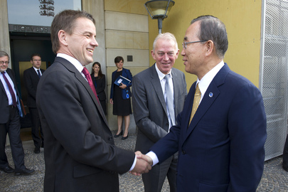 Secretary-General Meets with Ministers of Denmark