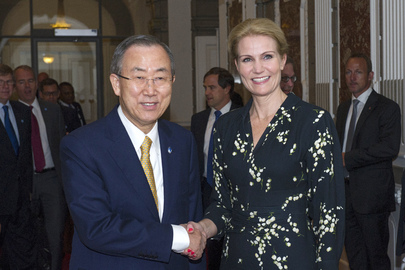 Secretary-General Meets with Prime Minister of Denmark