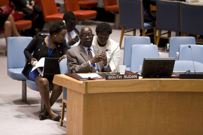 Security Council Discusses South Sudan