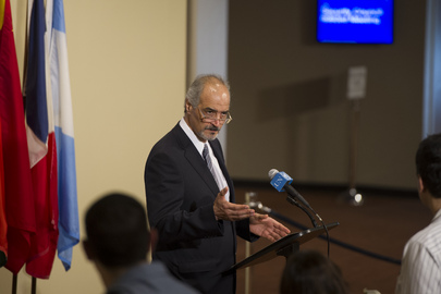 Permanent Representative of Syria Briefs Press