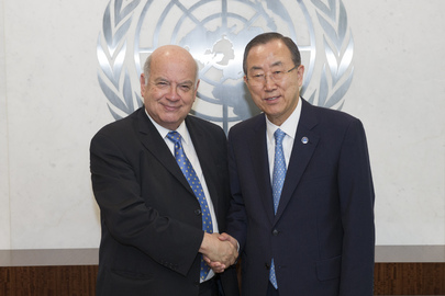 Secretary-General Meets Head of Organization of American States