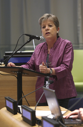ECLAC Chief Addresses Assembly Debate on Inequality