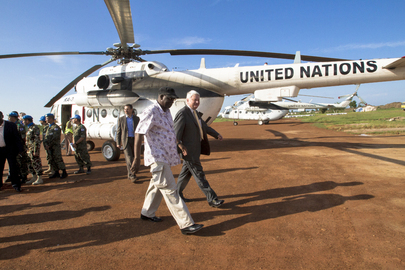 Peacekeeping Chief Visits South Sudan