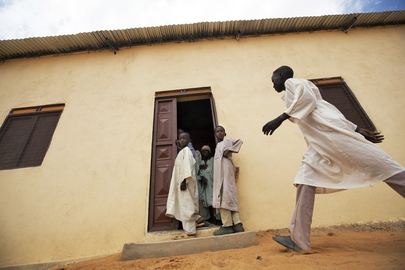 UNAMID Builds Classrooms in Um Baro, North Darfur