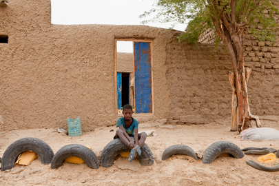 Tranquil Moment in Timbuktu