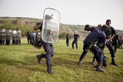 MINUSMA Trains Malian Police