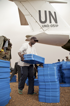 MINUSMA Transports Materials for Mali Presidential Elections
