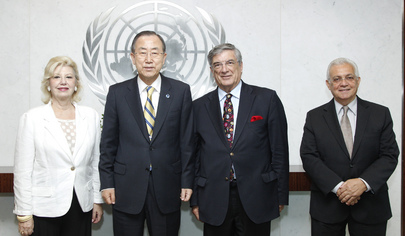 Secretary-General Meets Head of Former International Civil Servants Federation