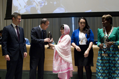 """Malala Day"" Youth Assembly for Universal Primary Education"