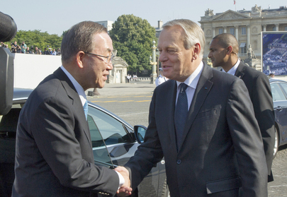 Secretary-General with French Prime Minister