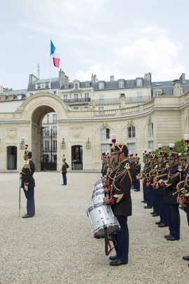 Honour Guard at Elysée Palace