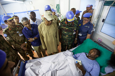 UNAMID Peacekeepers Recuperate in Nyala Following Deadly Ambush