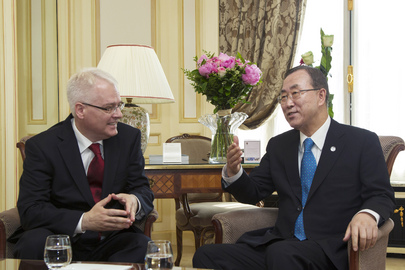 Secretary-General Meets President of Croatia