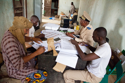 Electoral Officials in Kidal, Mali Ahead of Elections