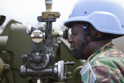 Members of MONUSCO Force Intervention Brigade Engage in Training Exercises