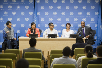 Press Briefing on Conference of States Parties to Disabilities Rights Convention