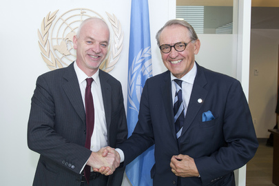 Deputy Secretary-General Meets Deputy Foreign Minister of Italy