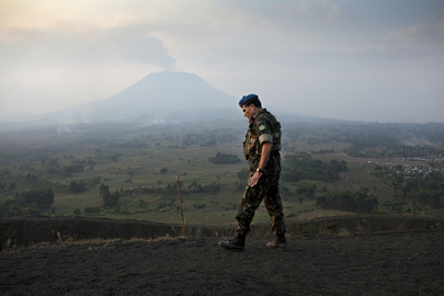 MONUSCO Observation Mission on Munigi Hill, Goma