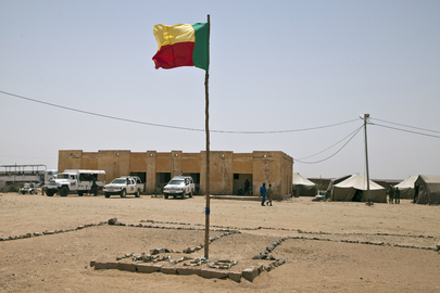 Images of MINUSMA in Kidal, Mali