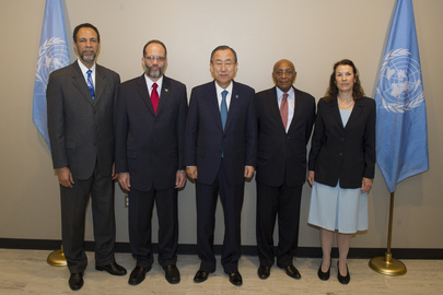 Secretary-General Meets Head of CARICOM