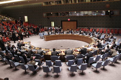 Security Council Discusses Situation in Middle East