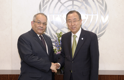 Secretary-General Meets Permanent Representative of Chad