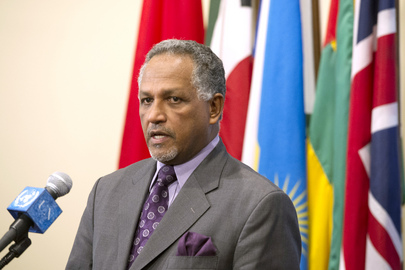 Permanent Representative of Sudan Speaks to Press