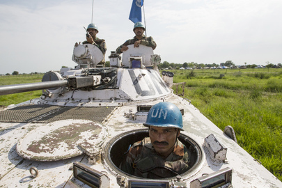 UNIMISS Peacekeepers on Patrol, Jonglei State
