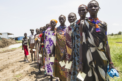 WFP Providing Food Assistance in Pibor, South Sudan
