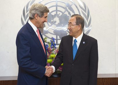 Secretary-General Meets US Secretary of State
