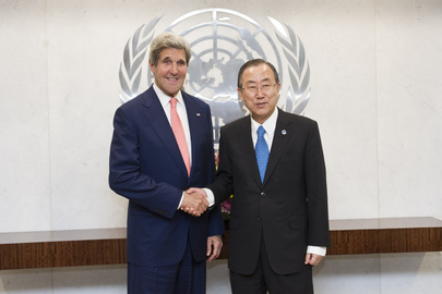 Secretary-General Meets United States Secretary of State