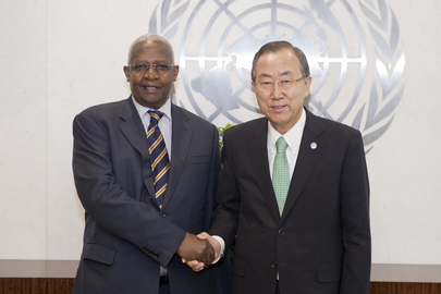 Secretary-General Meets Foreign Minister of Uganda