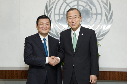 Secretary-General Meets with President of Viet Nam