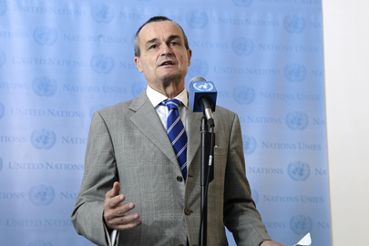 Permanent Representative of France Speaks to Press after Meeting with Syrian Opposition Leaders